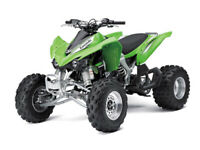 New Ray 57503 1/12 Kawasaki Kfx 450r Atv (green) 4 PACK