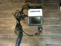 Lightly Used Lowrance Elite-9 TI Fishfinder with TotalScan Transducer