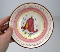 Stangl Pink Fairy Childs Bowl Kiddieware Vintage Mid Century 4044 5.5