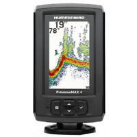 Humminbird Piranhamax 4 Sonar Fish Finder w/Dual Frequency 4.3