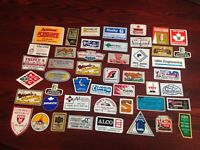 113 = VIntage-gas-and-oil-rig-hardhat-decal-sticker ***MASSIVE LOT