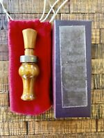 Vintage Roy Rhodes World Champion Hedge Duck Call- Mint Condition