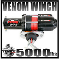VENOM 5000 LB ATV SYNTHETIC WINCH 5000LB ATV WINCH