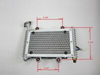 Radiator with cooling fan for 250cc ATV Kandi, Roketa.