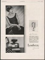 1929 LENTHERIC PERFUME PIRATE MODERN FRAGRANCE PARIS MODEL FASHION BEAUTY 21695