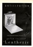 1939 DE LENTHERIC PERFUME ANTICIPATION FRAGRANCE TOILET6860