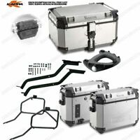 Set Frames Bauletto KVE58A & Suitcases KVE37A Honda Africa Twin 750 (96  02)