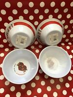 *NEW* 4-Count Kellogg's Smart Start Cereal Bowl Set Kelloggs New In Box