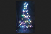 4 FT Led Lighted Xmas Tree Outdoor Indoor Christmas Yard Decoration DISPLAY