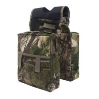 Lint ATV Motorcycle Saddle Bag Camouflage Fuel Tank Outdoors Storage Pouch 15L