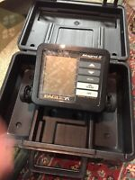 Eagle Magna II Fish Depth Finder Locator Case Portable Instructions