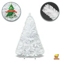 5' Small White Christmas Tree w Metal base Indoor Outdoor 450 Tip Holiday Sturdy