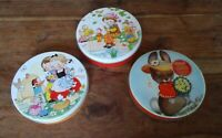 3 vintage tins Huntley Palmers Mabel Lucie Attwell & Riley's Easter Bunny 5