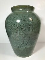 Zanesville Stoneware quot;Neptunequot; ? Unknown Maker Tall Oil Jar Vase 11 1 2quot;