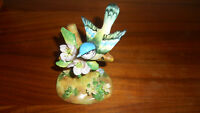 Tom Tit Bird Figurine Crown Staffordshire Fine Bone China- by J. T. Jones signed
