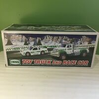 BRAND NEW IN BOX HESS 2011 TOY TRUCK AND RACE CAR FREE SHIPPING