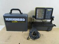Humminbird LCR 2000 Portable Fishfinder,Works,Fish Finder,Case,Transducer