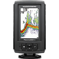 Humminbird 410150-1 PiranhaMAX 4 Fish Finder, Brand New