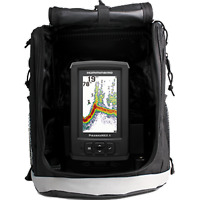 Humminbird #410170-1 Fishfinder, PiranhaMax 4 PT, Portable