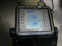 Eagle Ultra III 3D Depth Fish Finder w/Mounting Bracket - Head Unit Only - Works