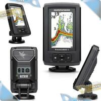 NEW Humminbird PiranhaMAX Fishfinder DualBeam Sonar 2400W System w/Transducer