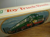 HESS TOY TRUCK  BANK - BOX ONLY!