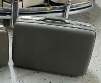 """Vintage 21.5"""" American Tourister Tri Taper Suitcase Gray Hardshell Luggage"""