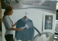 Home Touch 1219 Commercial Garment Steamer Perfect Steam Deluxe FREE SHIPPING $50.00