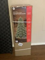 GE 7-ft Pre-Lit Asheville Fir Artificial Christmas Tree with Lights