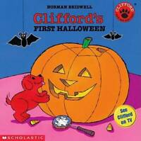 Clifford#x27;s First Halloween Paperback By Norman Bridwell GOOD $3.57
