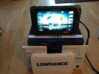 Lowrance HDS 9 Gen 2 Touch GPS/Fishfinder- Lightly used+Lowrance map card