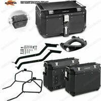 Set Frames Top Case KVE58B + Cases KVE37B BMW F 650 GSF 800 GS (08