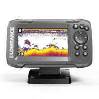 New Lowrance HOOK2 4X - 4-inch Fishfinder, GPS Plotter
