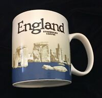 Starbucks England Mug Stonehenge Icon Coffee Cup Britain UK New v3 Discontinued