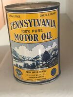VINTAGE PENN HILLS ONE QUART OIL CAN