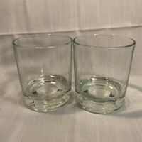 Set of Two Crown Royal Whiskey Glasses Commemorating 75 Years Made in Italy 2014