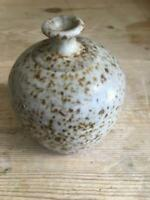 Fred Evangel Studio Handcrafted Pottery Small Vase EUC SHIPS FREE