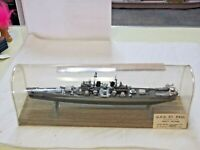 Aurora Model Military Ship USS St. Paul Store Display Salesman Sample