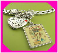 BRIGHTON COVER GIRL Crystal Silver Beautiful Chain NECKLACE NWtag $76