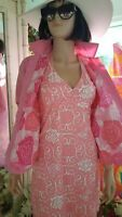 LILLY PULITZER jacket Lightweight in Lilly Pink Size 12 M