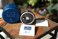 VINTAGE HARDY MARQUIS #5 FLY REEL WITH Original Case, Manual and Parts List