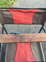 Antique American Radiator Company Wood Advertising Sign