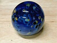 GLASS EYE STUDIO (GES) 02 CELESTIAL PAPERWEIGHT  EXCELLENT