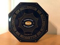 See's Candy Limited Edition Millenium Tin w/ Box *Mint*
