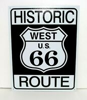 HISTORIC ROUTE 66 HIGHWAY ROAD SIGN~Metal 16