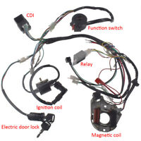 New 50 70 90 110 125CC CDI Wire Harness Assembly Wiring Kit ATV Electric Quad