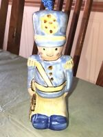 "Louisville Stoneware Pottery Toy Soldier Ornament Made In Kentucky 6"" Tall"