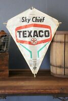 Vintage Texaco Sky Chief Sign Paper Kite 1950s Gas Oil Advertising gas station