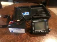 Lowrance X55A Fish Finder Depth Finder With Power Cord No Transducer