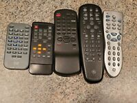 Lots of 5 DVD and universal remotes B2 $15.00